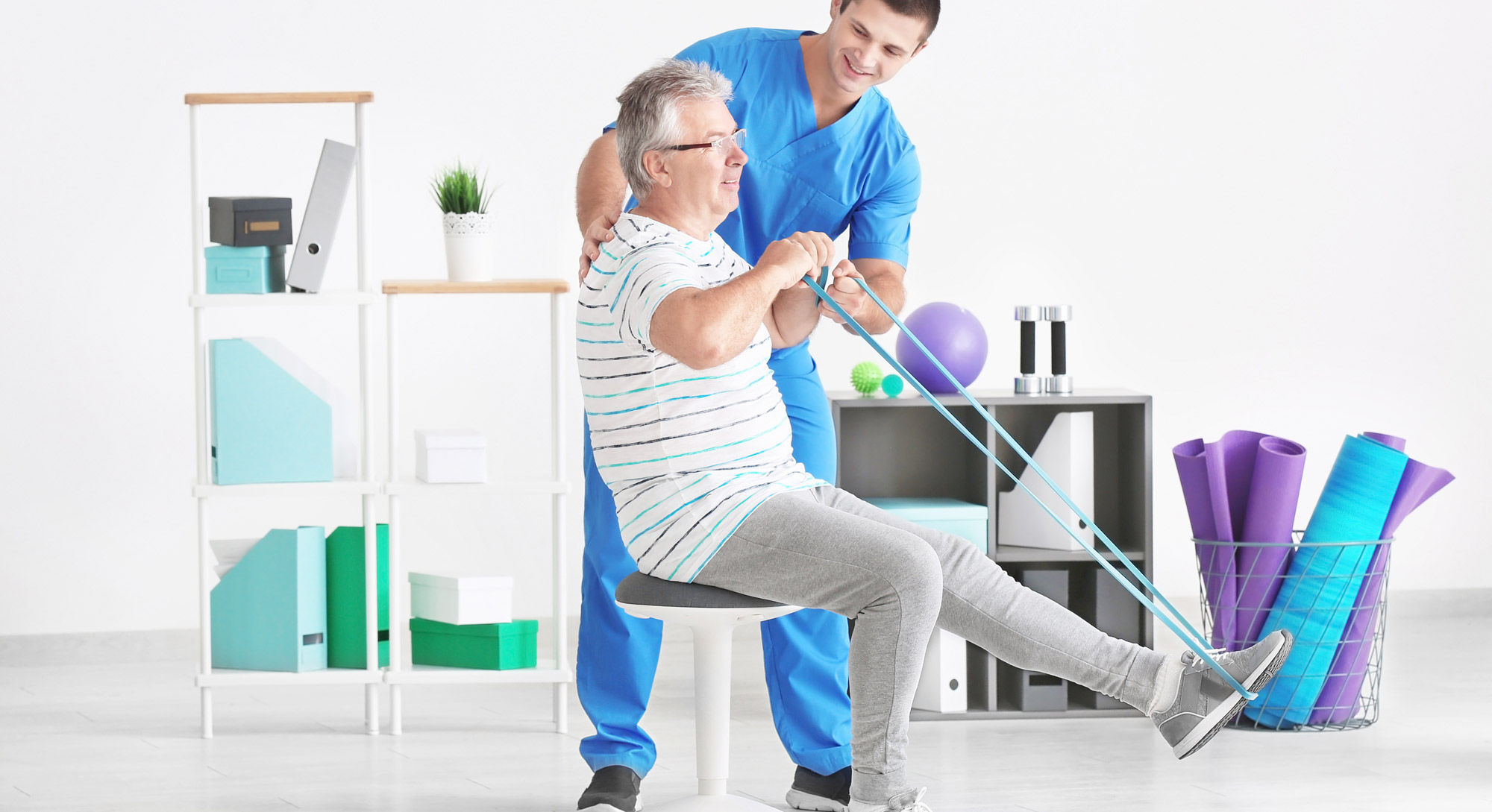 Rehabilitation & Ergonomic Advice at our clinic is as easy as it gets...